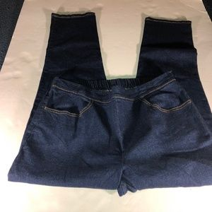 WHITE STAG Pants Size 12 Womens Navy